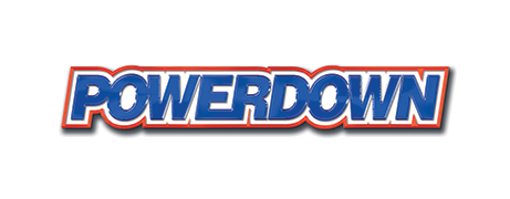Powerdown banner logo